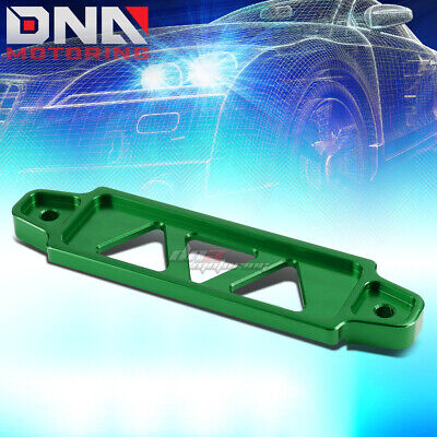 170Mm/145Mm Green Aluminum Car Battery Tie Down Mount Bracket Holder Brace Bar