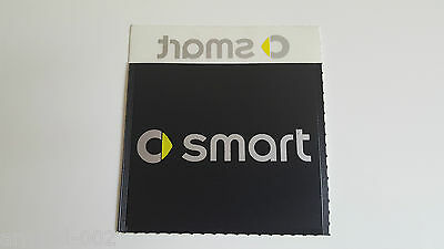 Case adhesive for windshield car Smart with logo - Door insurance, ticket