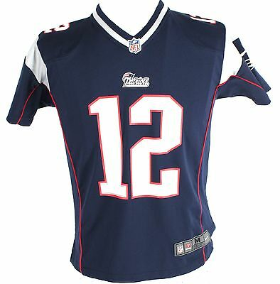 Boy's NFL Multi-Color Football New England Patriots Jersey Size M