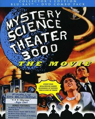 Mystery Science Theater 3000: The Movie [New Blu-ray] With Blu-Ray