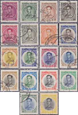 Definitive: King Bhumibol Aduljadej RAMA IX 4th Series (411I-427I) -CANCELLED-