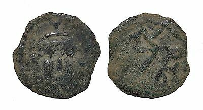 9049 Chach AE coin, Unknown ruler.