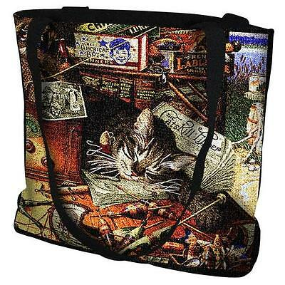 Woven Totebag - Max in the Adirondacks 896