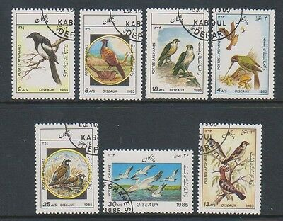 Afghanistan - 1985 Birds set - CTO
