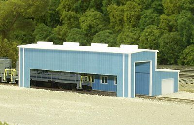 Pikestuff 541-8008 N Scale Atkinson Engine Facility Building Kit