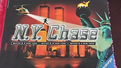 1999 NY Chase Board Game Unpunched NEW 100% Complete