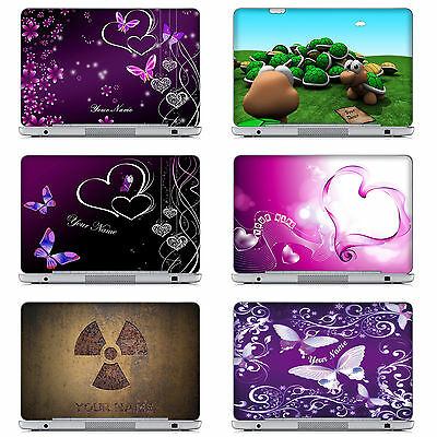 2018 High Quality Customized Laptop Computer Skin Sticker With Your Name