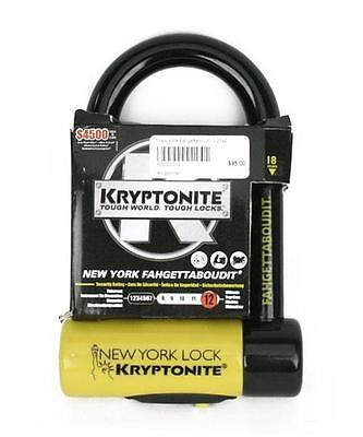 Kryptonite Bicycle New York Fahgettaboudit Lock Bike Mini U Lock