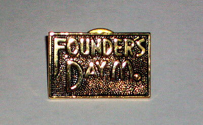 Founder's Day Collectible McDonald's Employee Crew Pin