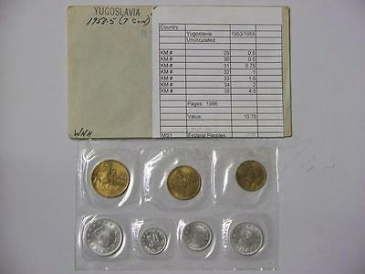 1976 TUVALU UNCIRCULATED 6 COIN  MINT SET INCLUDES $1 COIN #4951 jcj