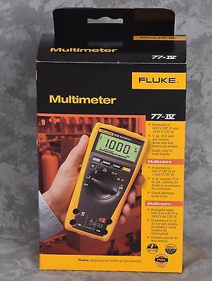 BRAND NEW Fluke 77-IV Digital Multimeter Electric Multi Meter