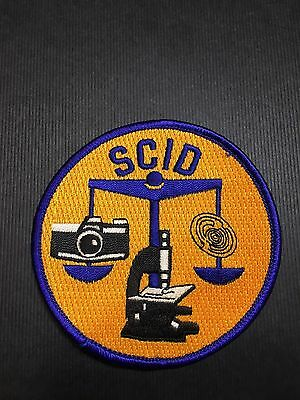 New Orleans Louisiana Police Crime Scene Shoulder Patch