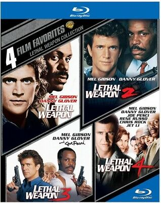 4 Film Favorites: Lethal Weapon [New Blu-ray] Boxed Set, Dolby, Subtitled, Ac-