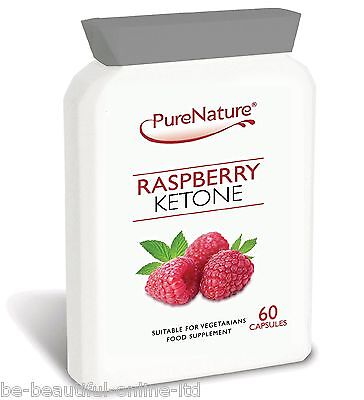 60 Pure Raspberry Ketones 2000mg Daily Weight Loss Slimming Diet Pills Burn Fat