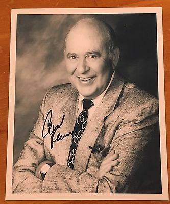 """Carl Reiner,100% Authentic Autographed 8"""" X 10"""" Photo,acting Legend,95 Yrs Old"""