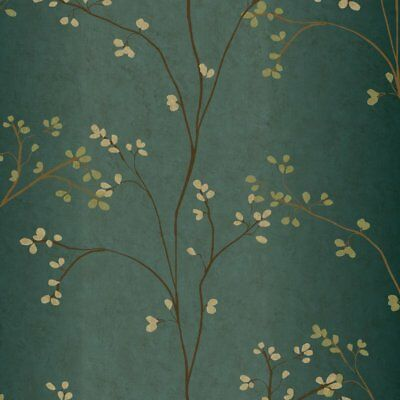"York Wallcoverings Book Vertical Blossoms 33' x 20.5"" Wallpaper Roll"