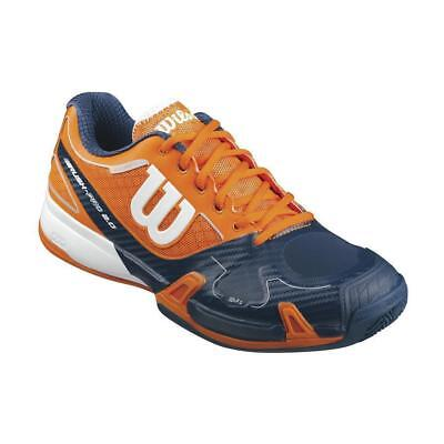 Wilson Rush Pro 2.0 Men Clay Court  clementine-navy-white
