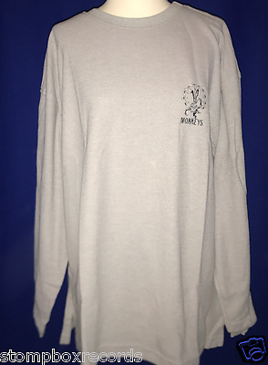 vintage 1996 12 Monkeys MOVIE PROMO SHIRT SWEATER THERMAL EMBROIDED