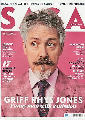 Saga Magazine - March 2017 - Griff Rhys Jones