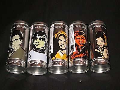 5 Collectible 2005 Burger King Star Wars Reversable Watches Sealed in Tins