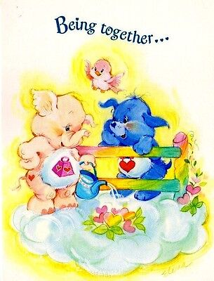 "❤❤Tcfc Elena Care Bear Cousins❤❤Unused 5""x7""card Wenvelope❤❤American Greetings"