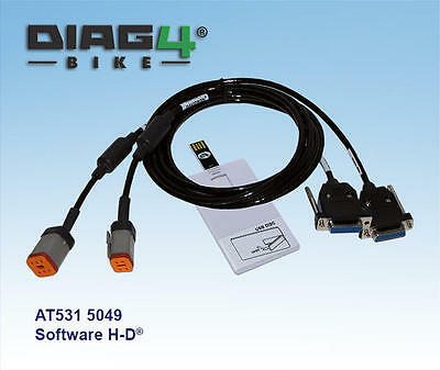 Diag4 Bike Serial Diagnostic System with Harley-Davidson Software