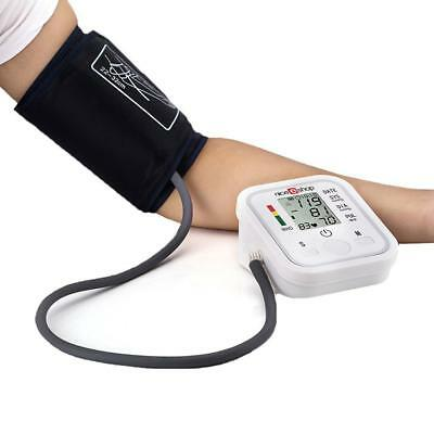Automatic Digital LCD Arm Cuff Blood Pressure Pulse Monitor Sphgmomanometer Tool