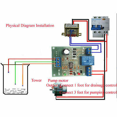 Liquid Level Controller Sensor Module Water Level Detection Sensor Component ATU