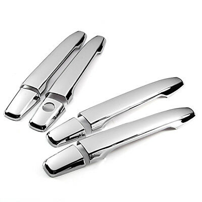 For 2009 2010 2011 2012 2013 Mitsubishi Lancer Triple Chrome Door Handle Cover