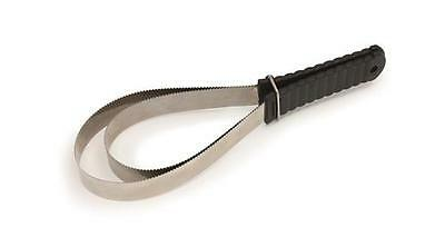 Shires Metal Sweat Scraper, / Shedding blade double sided for horse grooming.