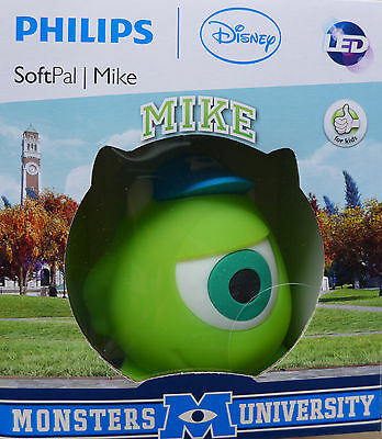 Philips Disney SoftPal Mike Monsters University Nachtlicht Tisch Lampe NEU OVP