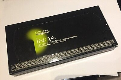 Neuf Stock Coloration L'oreal Inoa 6*8 Grammes 5,20 Chatain Clair Irise Intense