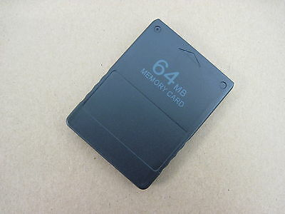 New 64Mb Memory Card For Ps2 Ps 2 High Speed Version Uk Seller