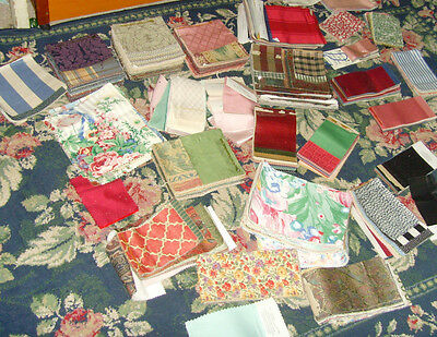 Huge lot of fabric material samples from retail store all styles patterns floral