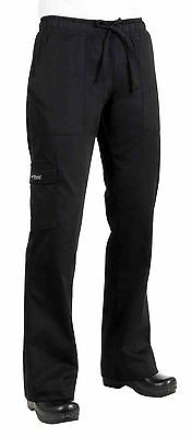 Chef Works Women's Cargo Chef Pant (CPWO) XS New