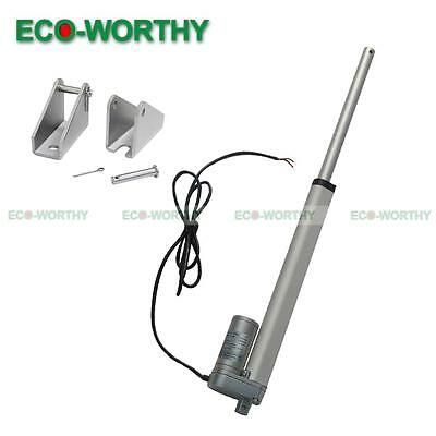 """DC12V 10"""" Stroke Length Linear Actuator Motor 330lbs Max Pound for Electric Sofa"""