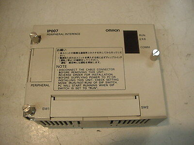 New Omron PLC module C200H-IP007