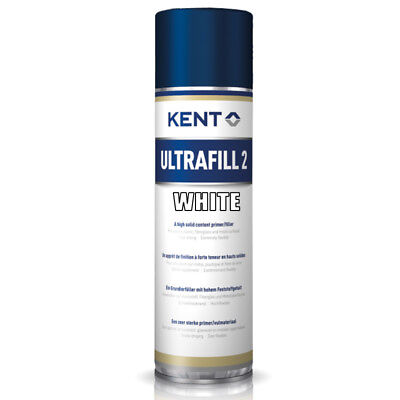 1x KENT ULTRAFILL 2 500ml SPRAYDOSEN WEISS / WHITE DOSE FÜLLER SPOT REPAIR