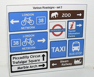 City custom signs stickers english streets underground zoo lego tiles sizes