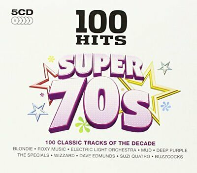 Various Artists - 100 Hits Super 70s - Various Artists CD 68VG The Cheap Fast