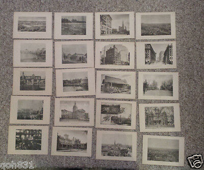COTTON STATES & INTERNATIONAL EXPO Atlanta 1895 VIEW CARDS set of 36 Worlds Fair