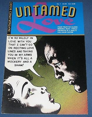 Untamed Love  1950's Romance Comics  Frazetta art
