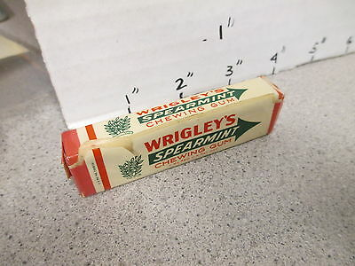WRIGLEY'S Spearmint chewing gum candy 1940s UNOPENED pack
