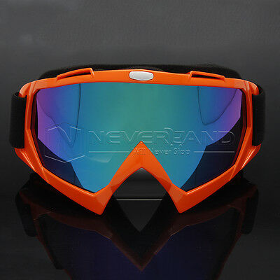 Motorcycle MX Bike Motocross KTM Dirt Dustproof Off Road Racing Goggles Glasses