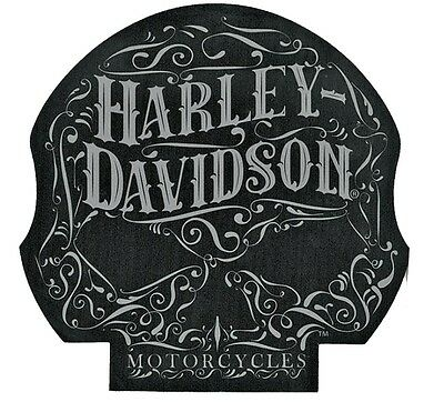 Harley-Davidson® Black Willie G Skull Die Cut Office Mouse-pad (8x7.8) MO14680