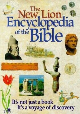 The New Lion Encyclopedia of the Bible Hardback Book The Cheap Fast Free Post