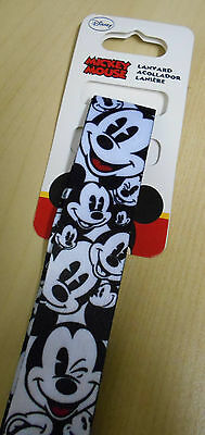 Mickey Mouse Expressions Lanyard ID Holder (DISNEY)