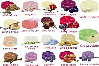Highly Scented Creation Wax Melts Candle Tart Scent Oil Burner Fragrance Perfume