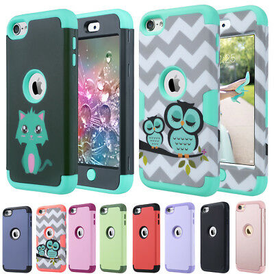 Hybrid Protective Silicon Hard TPU Case  For Apple iPod Touch 5 6th Generation