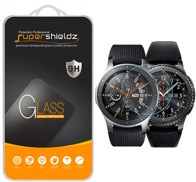 [2-Pack] Samsung Gear S3 Frontier Tempered Glass Screen Protector